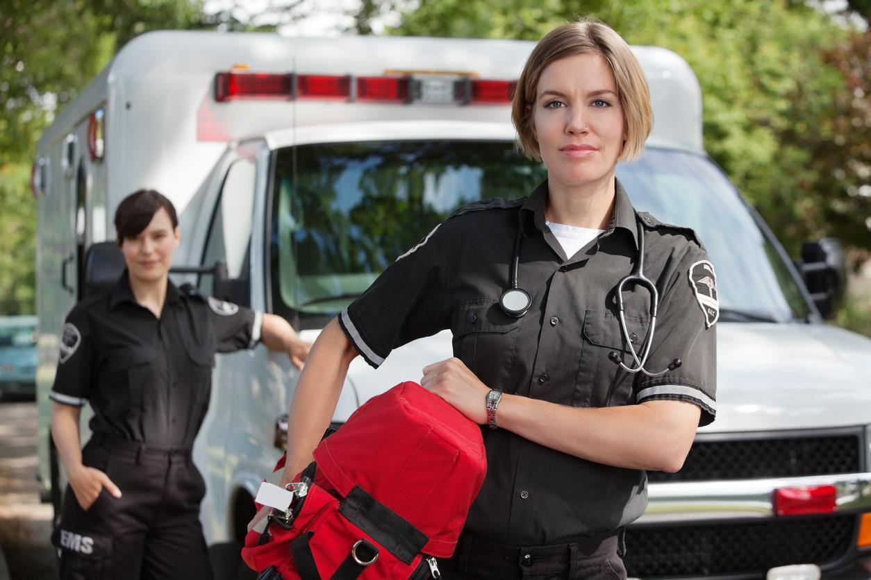 Photo of EMS Worker