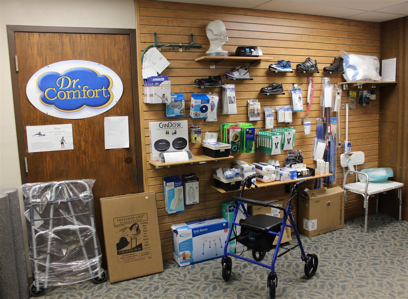 the best attitude 5ac90 5871b Heart of America Medical Center s Durable Medical Equipment store is  located on the ground floor next to admissions in the hospital.